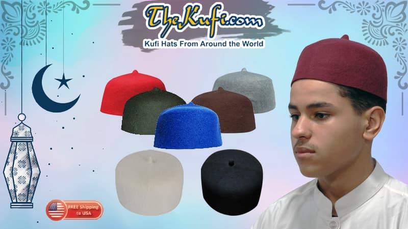 Felt Wool Fez Kufi Hats | TheKufi®