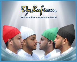 Naqshbandi Sufi Tariqah Kufi Hat