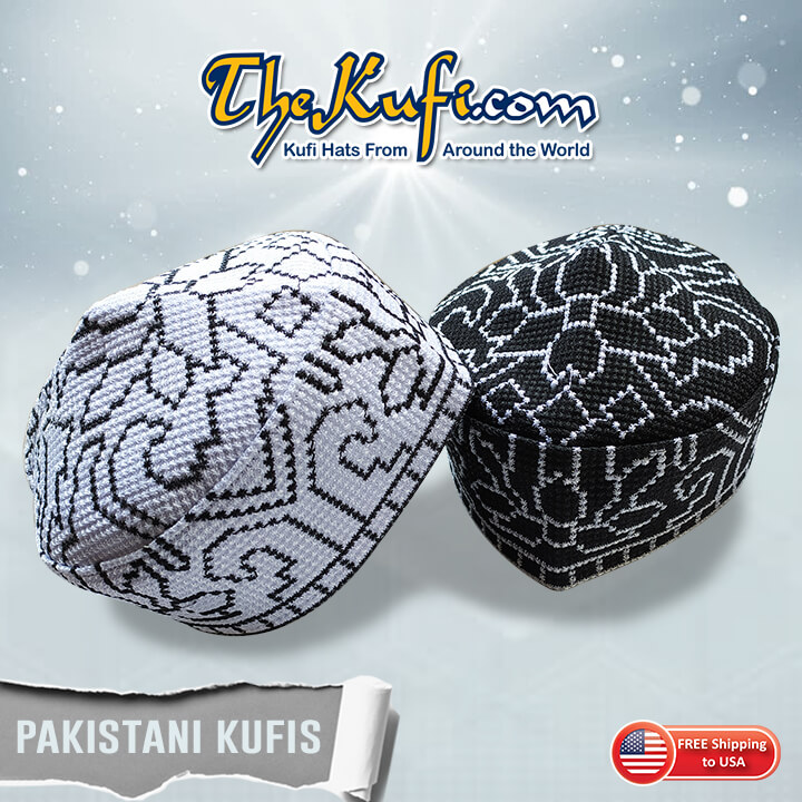 Pakistani Topi Kufi