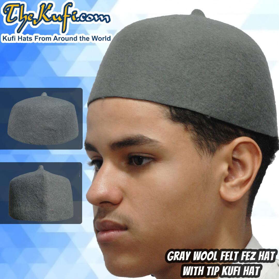 wool fez hat