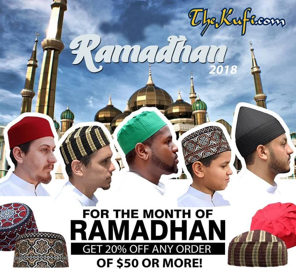 Promo Special Ramadhan 2018 TheKufi.com