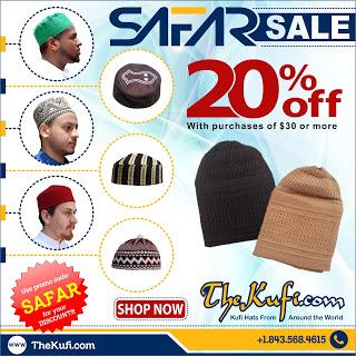 Safar Sale Promo 20%
